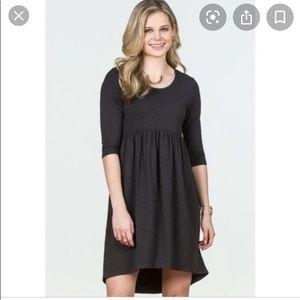 Matilda Jane Black Jersey Knit Discovery Dress Sm